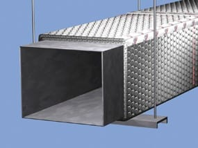 concealed ductwork