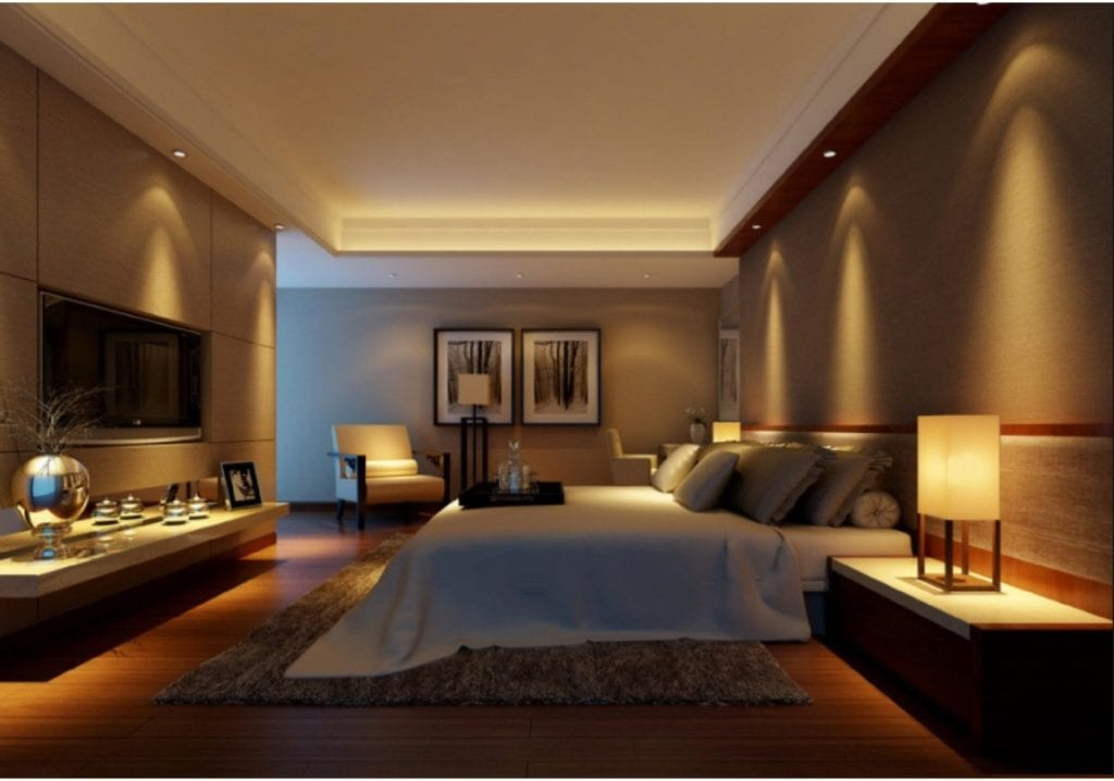 Bedroom LED Lighting Design