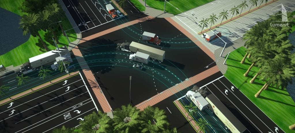 transportation 3d visualization