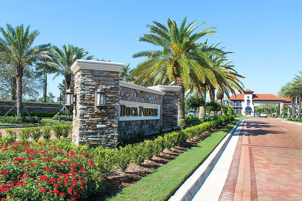 Boca Pointe Landscape Architecture