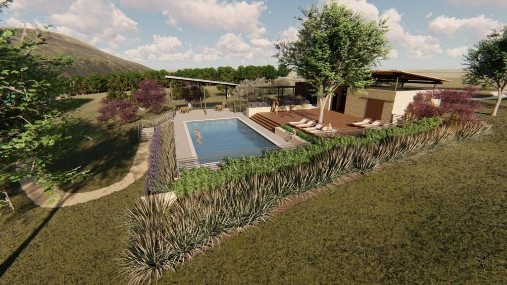 Oxbow Pool Rendering