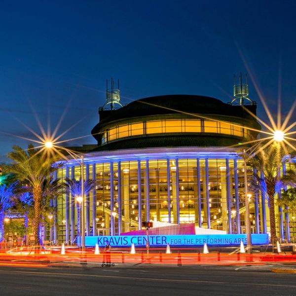 Kravis Center WPB night, Tampa Civil Engineering