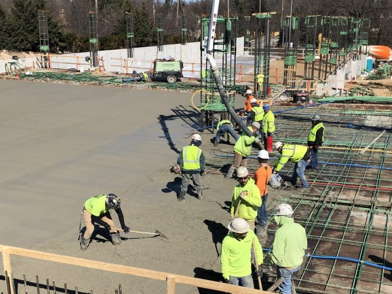 Spectrum-Blodgett Hospital North Deck construction