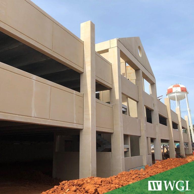VA Medical Center Parking Garage