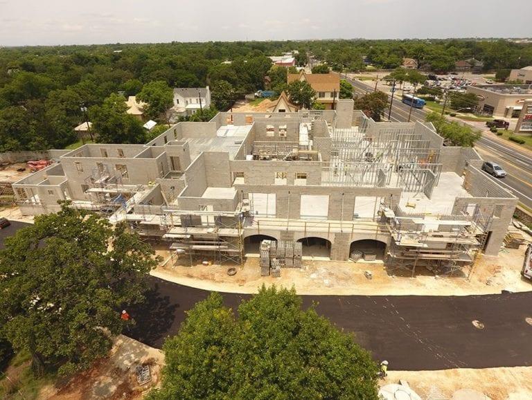 Commodore Perry Estate Construction