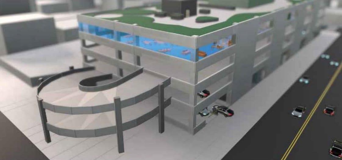 Adaptive Parking Garage FlexPark