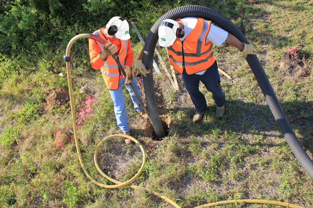 Subsurface Utility Engineering (SUE) Services Firm: WGI