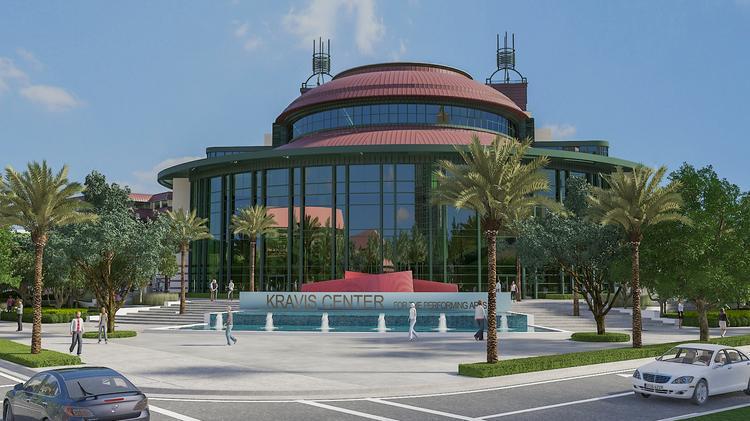 Kravis Center rendering