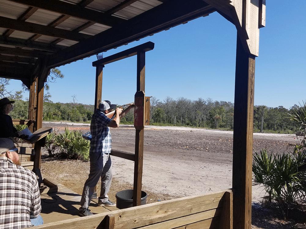 Clay shoot