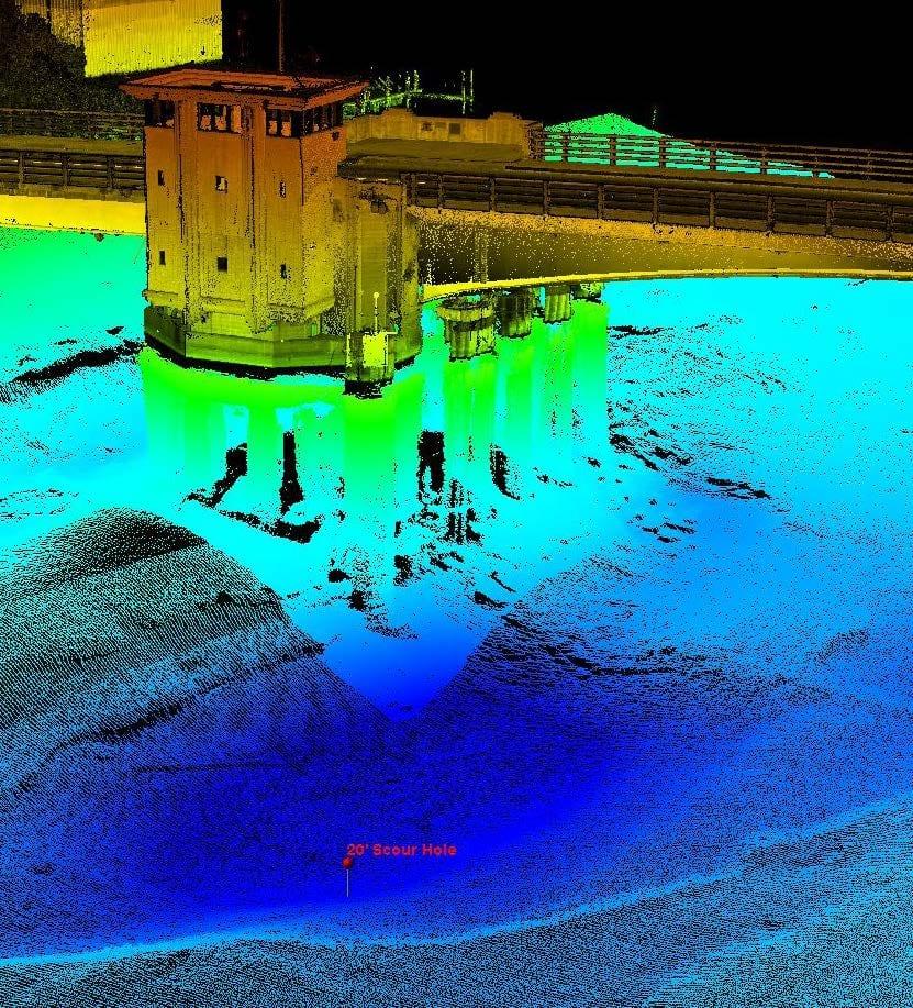 Z-Boat Drone Multibeam Point Cloud