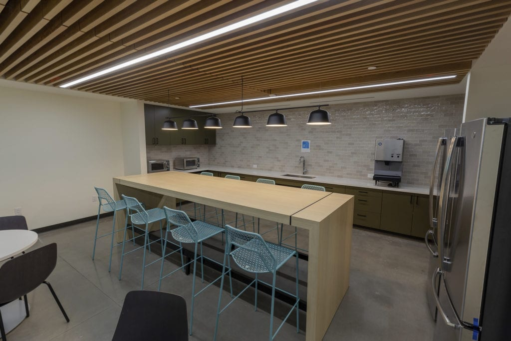 office space kitchen mep engineering