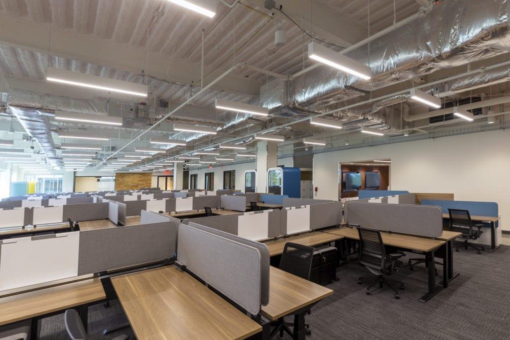Open office space MEP engineering, Texas MEP Engineers
