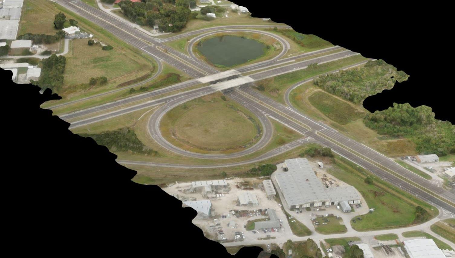 UAS Aerial LiDAR Scan of the Fort Frasier Trail Extension, Polk County, FL