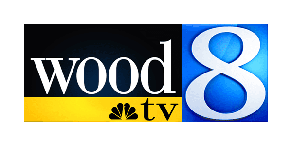 Wood TV 8 Logo