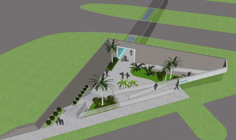 District 3 Underpass Concept 1