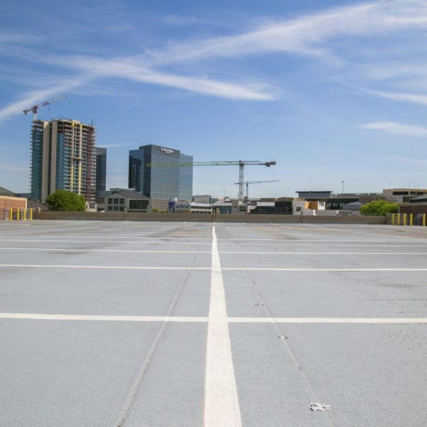 Campus at legacy parking deck