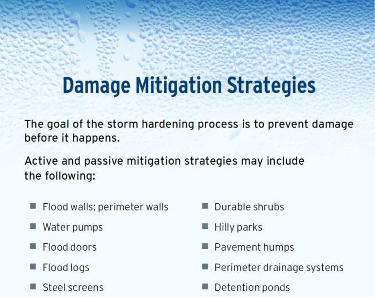damage mitigation