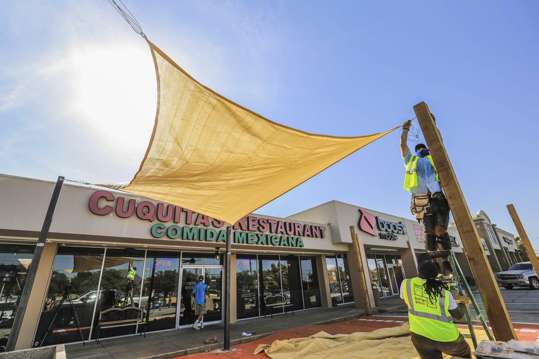 Restaurant Outdoor Patio Retrofit