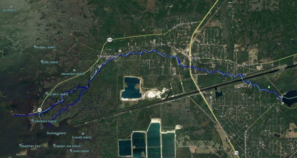 river project limits survey