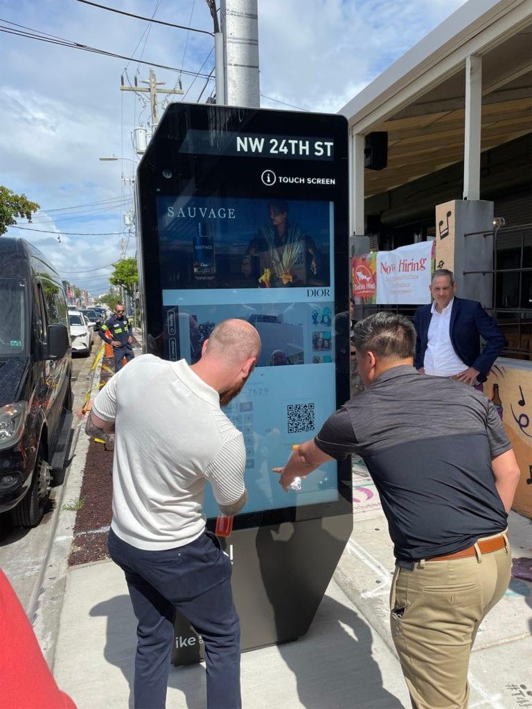 Interactive Kiosk Experience miami