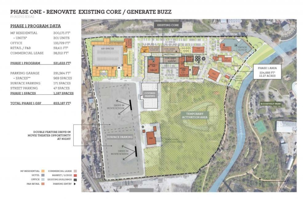 Lake Flato Architects Phase Map