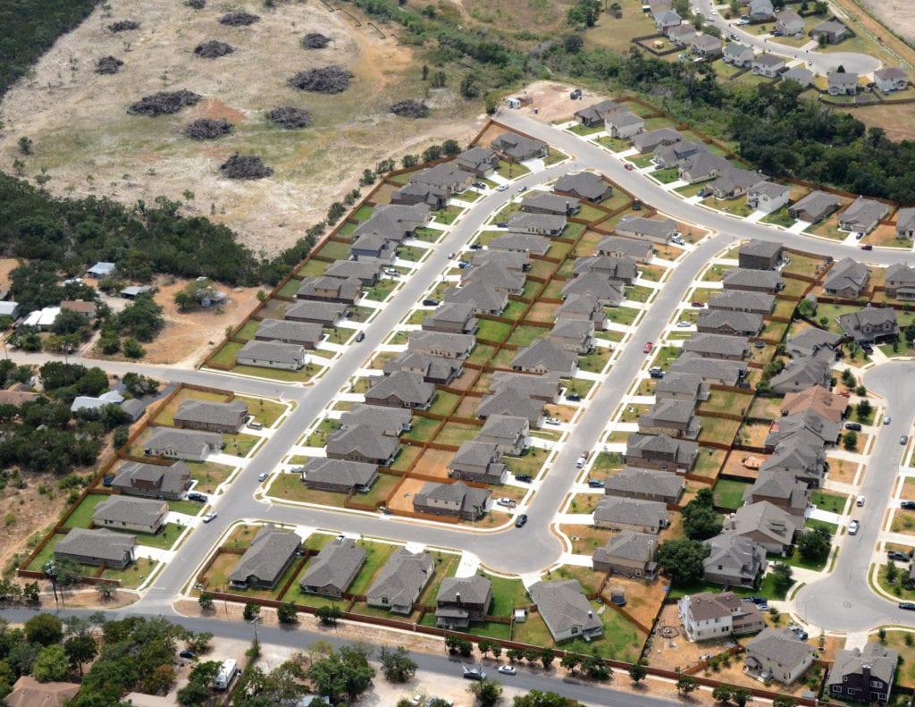 Single Family Housing Development - Texas
