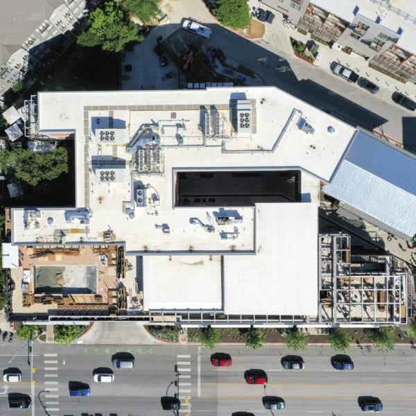 Music Lane Austin aerial