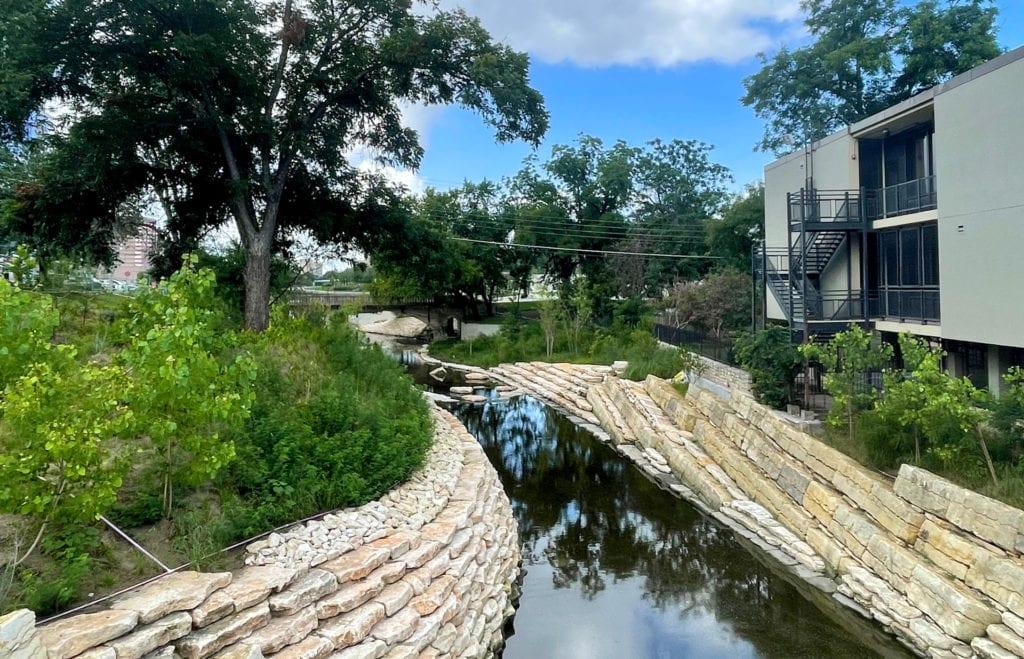 Waller Creek in Waterloo Park