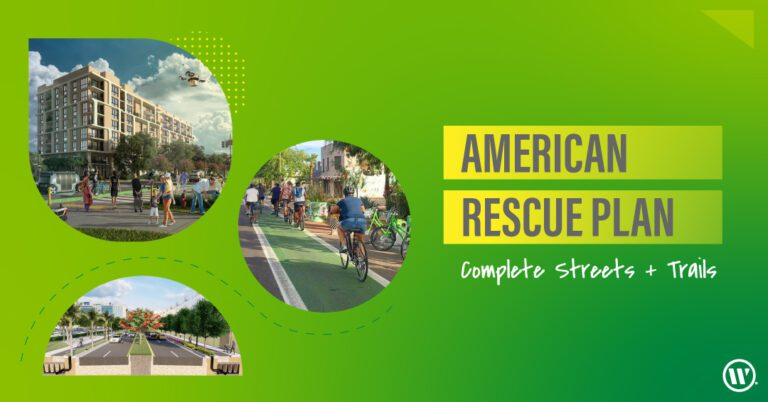 American Rescue Plan Complete Streets ARPA