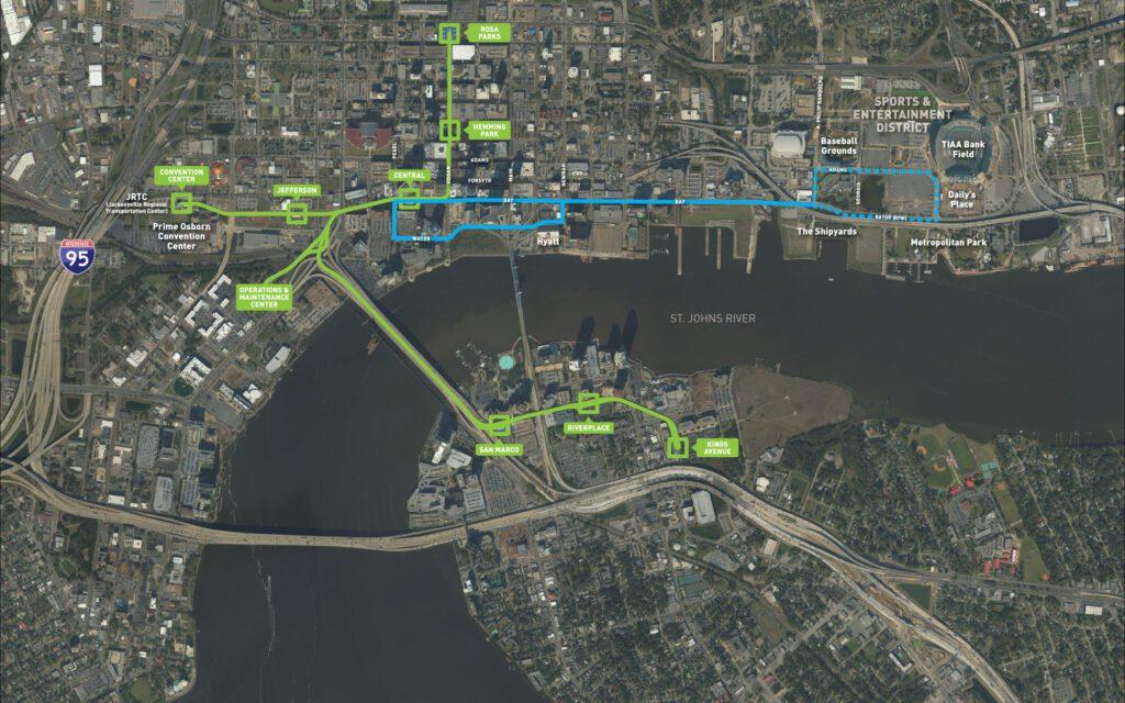 Bay-Street Corridor Map